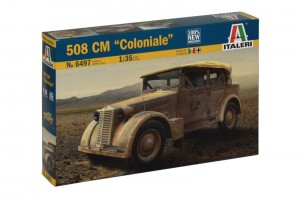 """508 CM """"Coloniale"""" - ITALERI 6497"""