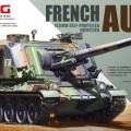 Fransk 1 155mm selvgående Howitzer - Meng-Modell