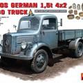 MB 1500-TALLET tyske 1,5 t Last Lastebil - MiniArt 35142