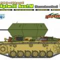 3.7 cm FlaK 43 auf Fahrgestell, Pz.Kpfw.III Ausf.M (Versuchsaufbau) - Cyber-Hobi 6771