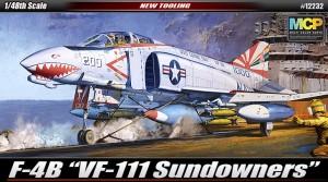 "F-4B ""VF-111 Sundowners"" - ACADEMY 12232"
