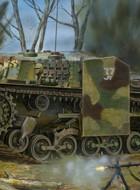 Węgierski M40 / 43M Zrinyi II 105 mm SPG-Bronco CB35036