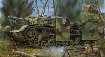 Угорський М40/43М Зріньї II 105-мм САУ - Бронко CB35036
