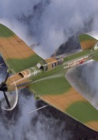 IL-2M3 Támadás Repülőgép - HOBBI FŐNÖK 80285