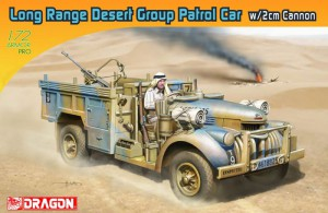 Long Range Desert Group Patrol Car w/2cm Cannon - DML 7504