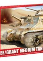 M3 Lee Grant Střední Tank - Airfix A01317