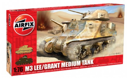 M3 Lee Grant Medium Tank - Airfix A01317
