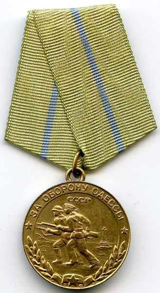 "Medal ""For the Defence of Odessa"""