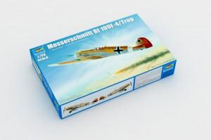El Messerschmitt Bf 109 F-4/Trop - el Trompetista 02293