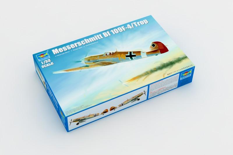 Messerschmitt Bf 109F-4/Trop - Trumpeter 02293