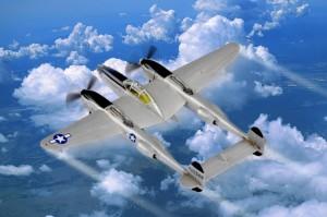 P-38L-5-L0 Lyn - HOBBY SJEFEN 80284
