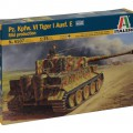 Пз.Кпфв.VI Tiger I Аусф.Е мид production - ITALERI 6507
