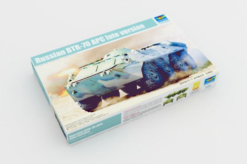 Russe BTR-70 APC version tardive - Trompettiste 01591