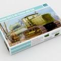 Russische ChTZ S-65 Trekker met Cabine - Trompettist 05539
