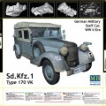 Sd. Kfz. 1 Typ 170 VK - tysk Militär Personal car - Master Box MB3530