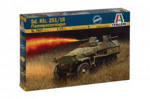 Sd. Колата. 251/16 бронеавтомобиль-ITALERI 7067