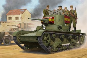 Soviet T-26 Light Infantry Tank Mod.1935 - HOBBY BOSS 82496