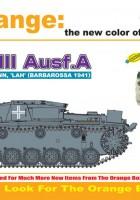 Самоходни.III Ausf.A, Michael Wittmann, 'LAH' (Barbarossa 1941) - Cyber-Hobby 9143