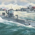 U-Boat Type IIB (1943) German Submarine - ICM S010