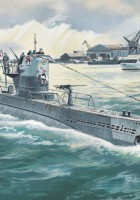 U-Boat Type IIB (1943) - German Submarine - ICM S010