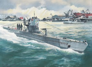 Тип IIb подводница (1943) - немската подводница - ИКМ S010