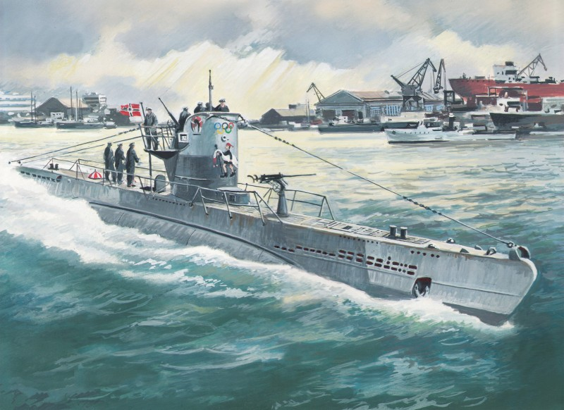 Boat Tipo IIB (... U Boat