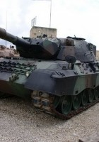 Леопард 1А1 - walkaround с парусом