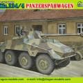 Sd.De carro.234/4 blindado de reconhecimento de veículos - DML 6772