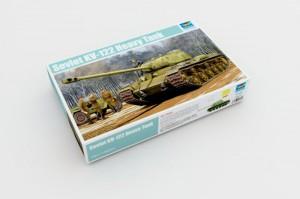 Soviet KV-122 Heavy Tank - Trumpeter 01570