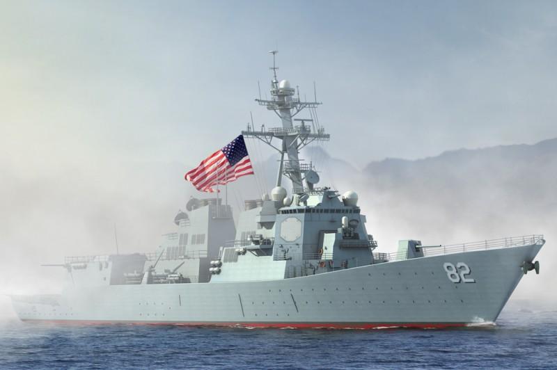 USS Lassen DDG-82 - CHEFE HOBBY 83412