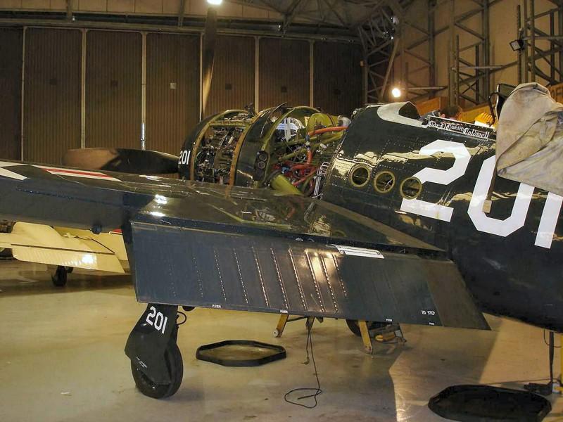Grumman F8F Bearcat - išorinis sukamaisiais apžiūra