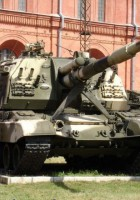 Self-propelled howitzer 2C19 MSTA-S - WalkAround