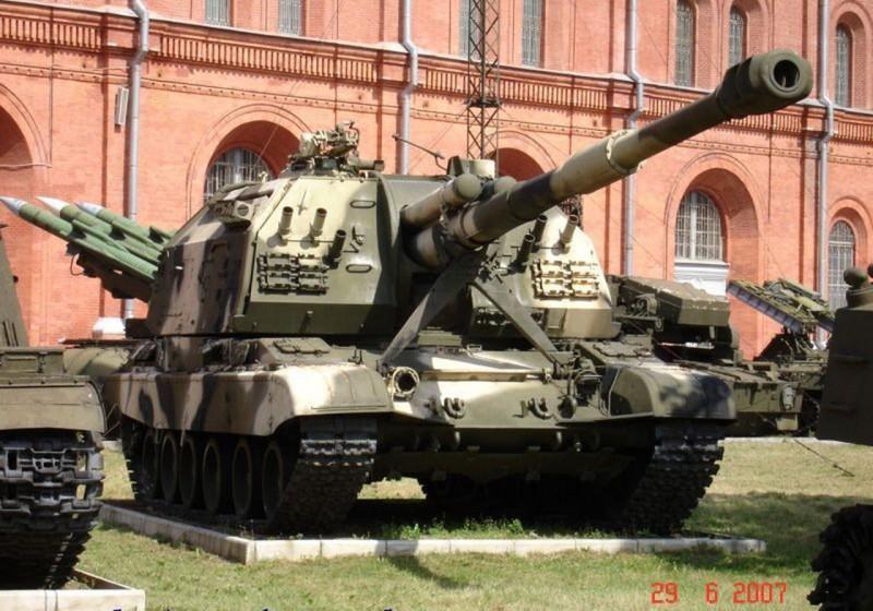 Αυτοκινούμενα howitzer 2C19 MSTA-S - Περιήγηση