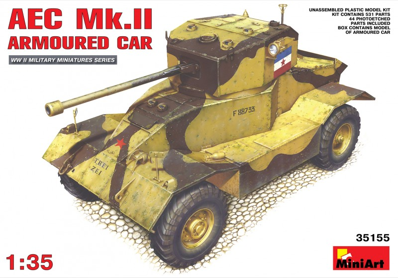 AEC Mk.II Armoured Car - MiniArt 35155