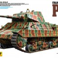 Taliansky Ťažký Tank P40 - Tamiya 89792