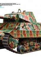 Italijos Sunkusis Tankas P40 - Tamiya 89792