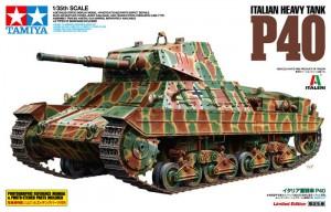 P40 Itaalia Raske Tank - Tamiya 89792
