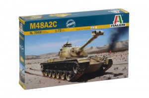 M-48 M48a2c Patton-ITALERI 7068