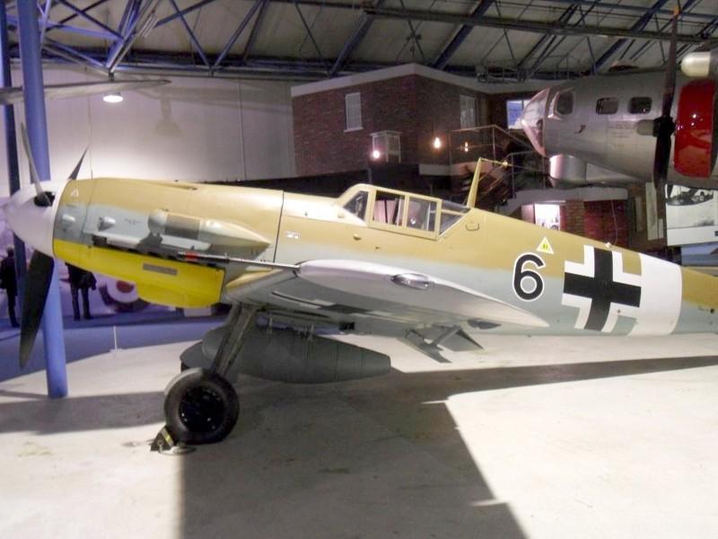 Messerschmitt Bf 109G - gå rundt