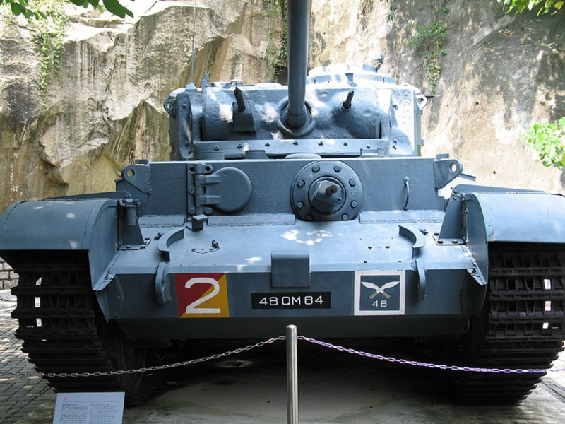 Tank A34 Comet - WalkAround
