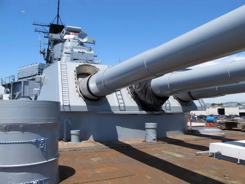 USS Iowa - WalkAround