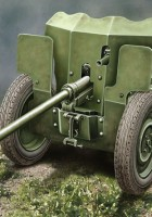 French 25mm Anti-tank gun S.A. Mle 1934 - Ace Models 72523