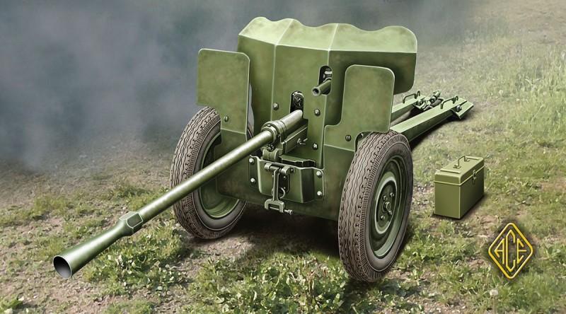 Francia 25mm Anti-tank fegyver S. A. Nel 1934 - Ace Modellek 72523
