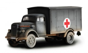 DUITSE 4x4 AMBULANCE - Forces of Valor 80073