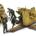 TYSK 88 MM FLAK KANON Normandiet 1944 - Forces of Valor 80234