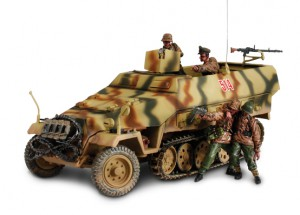 DUITSE SD. KFZ. 251/1 HANOMAG Forces of Valor 81610