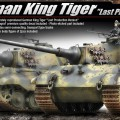 German King Tiger [Last Production] - 13229 ACADEMY