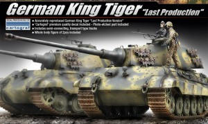 German King Tiger [Last Production] - ACADEMY 13229