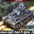 German Light Tank Pz.Kpfw. 35(t) - AKATEMIA 13280