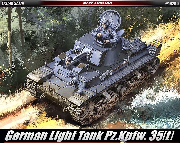 Tanque Ligero Alemán Pz.Kpfw. 35(t) - ACADEMIA de 13280